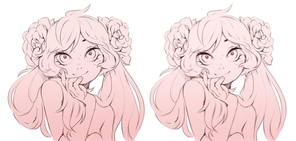 blur rose