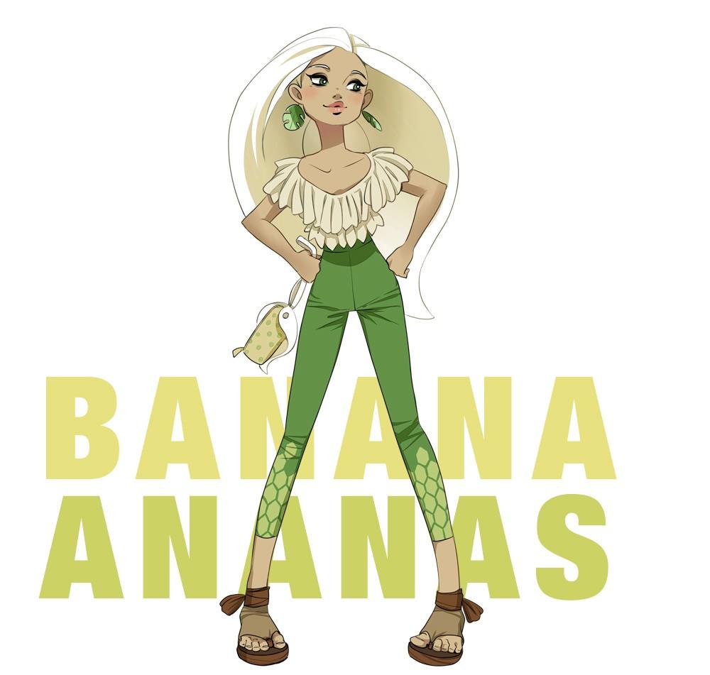 banana ananas