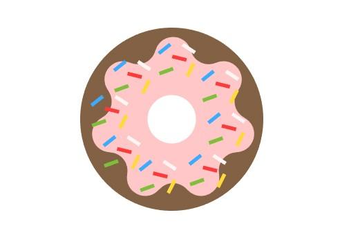 donut wektor