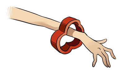 Bransoletka z plasterka chili