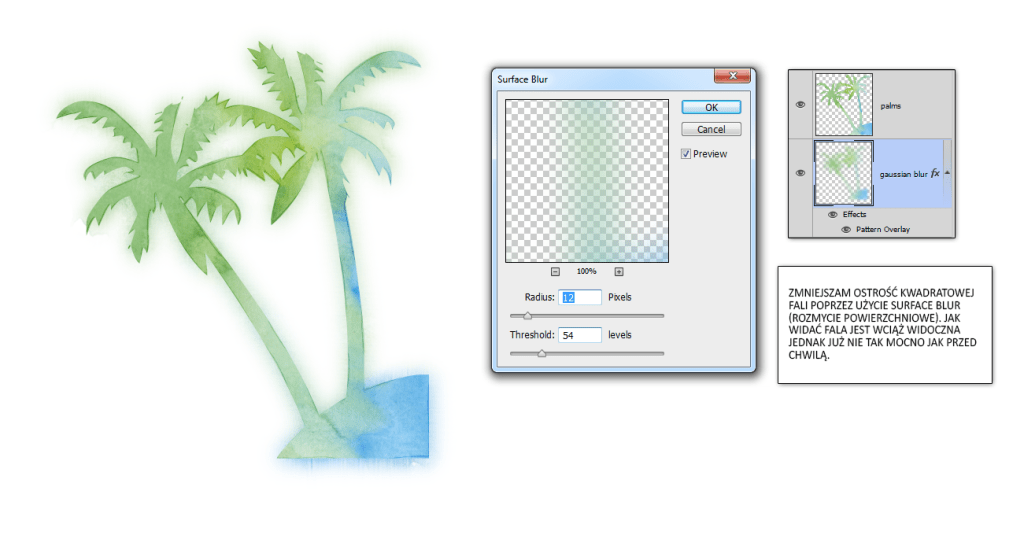 surface blur